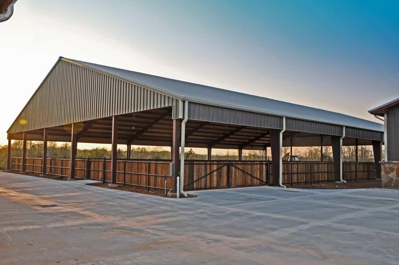 Steel Building For Prefab Stables Steel Buildings By