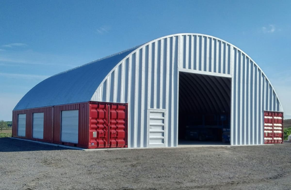 Shipping Container Roof Trusses Steel Buildings By Metal