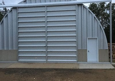 Building for winter boat storage