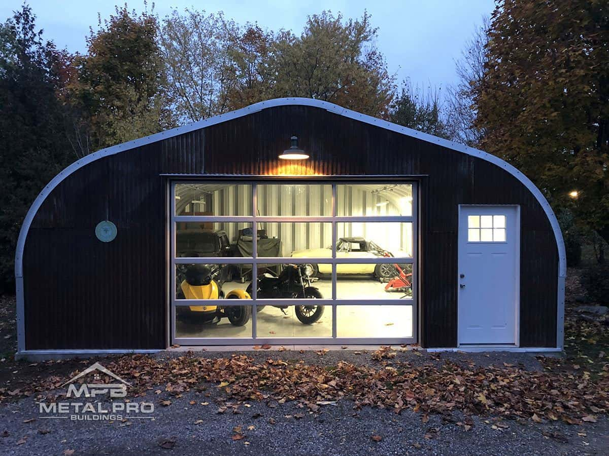 Steel Building Workshop Garage