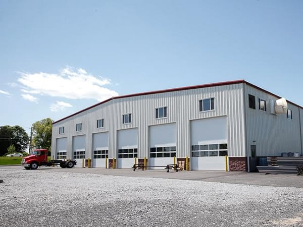 An example of one of our commercial steel buildings for sale.